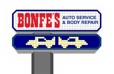 Bonfes Auto Shop Repair and Body Repair Logo
