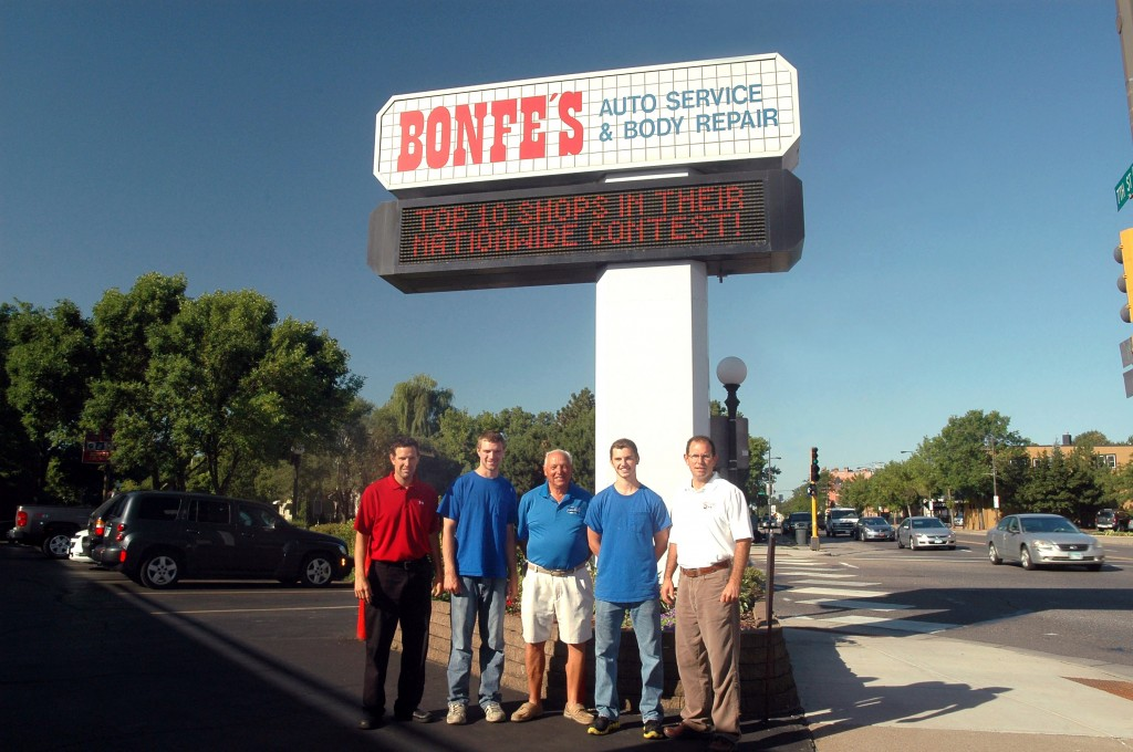 Family Owned and Operated Bonfes Auto Repair